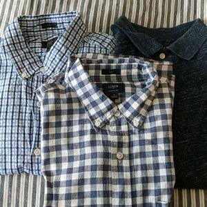 Bundle of J. Crew shirts